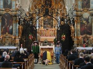 Begräbnis von Erzherzog Felix von Oesterreich in Muri